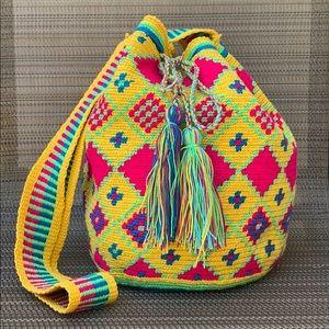 Handwoven Bucket Bag